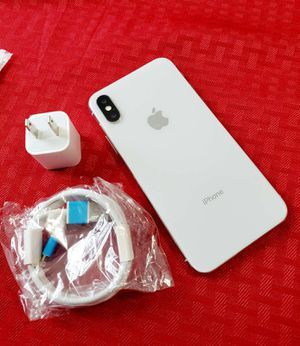 """iPhone X 256GB ,,Factory UNLOCKED Excellent CONDITION""""as like nEW"""" for Sale in Springfield, VA"""