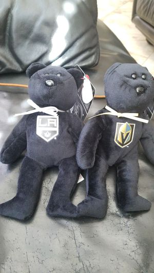 Official VGK TY BEANIE BABIES AND LA KINGS BEANIE BABIES for Sale in North Las Vegas, NV