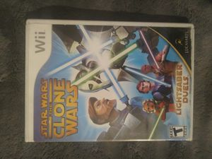 Wii star wars the clone wars for Sale in Stanton, CA