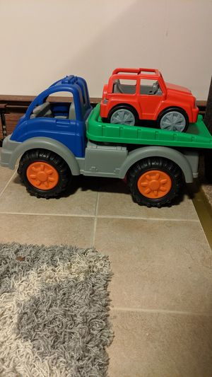 Jumbo dump truck and car for Sale in Chicago, IL