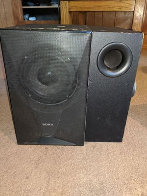 SONY SS-WSB123 PASSIVE SUBWOOFER W/ an additional Subwoofer for Sale in Fresno, CA