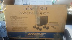 (BOSE) LIFESTYLE 800 HOME THEATER SYSTEM for Sale in Hyattsville, MD