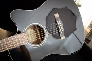 Fender CD-140SCE/BLK Electric Acoustic Guitar in MINT Condition, with Locking Case. Not a scratch! for Sale in Mesa, AZ