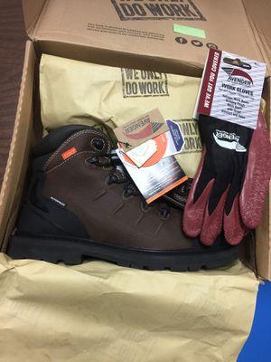 work shoe steel toe boots waterproof paid 130$ for Sale in Lauderhill, FL