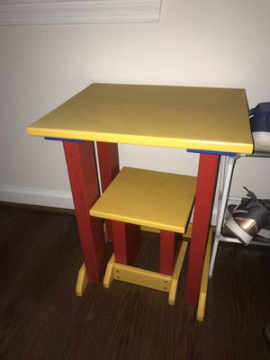 Kids table and chair for Sale in Quantico, VA
