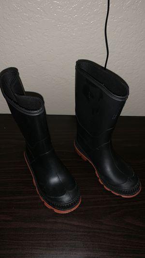 Kids rain boots 12 for Sale in Chino, CA