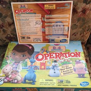 Operation Game - Doc McStuffins for Sale in Aloha, OR