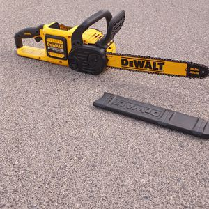 Dewalt Flexvolt Chainsaw Tool Only for Sale in North Las Vegas, NV