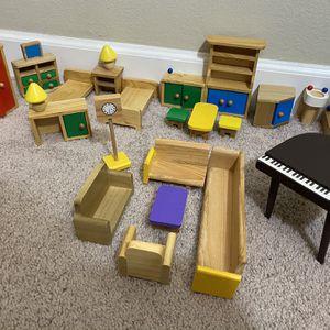 Wooden Doll Furniture for Sale in Santa Clara, CA