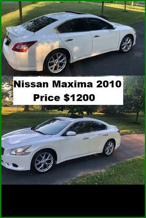 ֆ12OO_2010 Nissan Maxima S for Sale in Seattle, WA