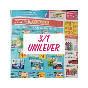 3/1 RMN unilever w/ purex whole inserts for Sale in National City, CA