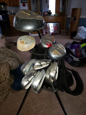 Golf clubs and bag for Sale in Greensboro, NC
