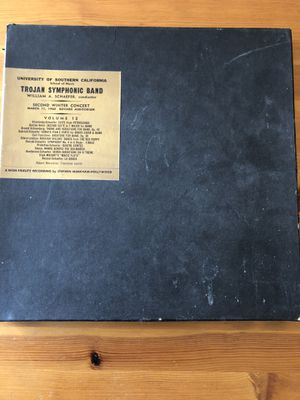 UNIVERSITY OF SOUTHERN CALIFORNIA TROJAN SYMPHONIC BAND OF 1960 VINYL LP ALBUM for Sale in Santa Monica, CA