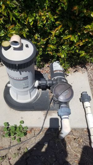 Swimming pool pump and filter for Sale in Stockton, CA