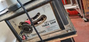 """Central Machinery 10""""(250mm) Table Saw for Sale in Ontario, CA"""