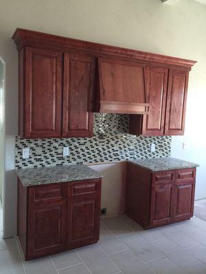 HOLA HACEMOS GABINETES PARA CASAS / HELLO WE MAKE KITCHEN CABINETS for Sale in Manor, TX