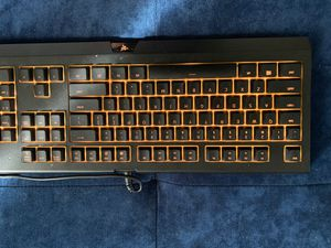 Logitech g502 and razed holiday keyboard for Sale in Lakewood, CO