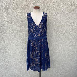 Francescas Blue Lace Cocktail Dress for Sale in Sacramento, CA
