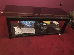 Glass top TV stand for Sale in Washington, DC
