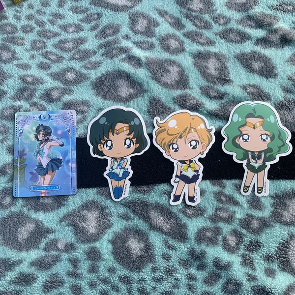Sailor moon senshi Keychain Bundle