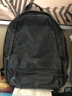 Used Leather Backpack for Sale in Long Beach, CA