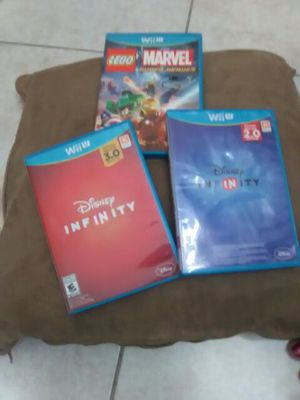 3 Games For the Nintendo Wii U for Sale in SEATTLE, WA