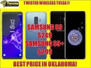 Samsung s9 $249/ s9 PLUS $299! UNLOCKED/ DESBLOQUEADO for Sale in Tulsa, OK
