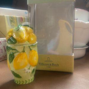 Villeroy & Boch Lemon Candle Holder for Sale in Smithtown, NY