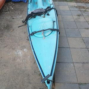 Aquaterra Prism Kayak With Paddle for Sale in Costa Mesa, CA
