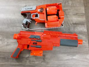 Star wars and Zombie nerf guns for Sale in Wood Dale, IL