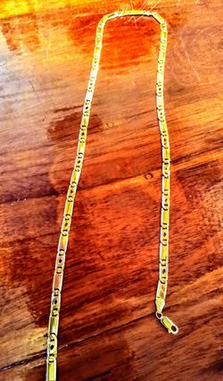 """10k.32grams solid pure yellow gold men's chain.22"""" for Sale in Pensacola,  FL"""