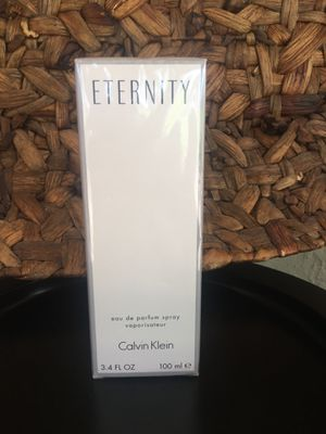 ETERNITY SPRAY PERFUME BRAND NEW ! for Sale in Winter Haven, FL