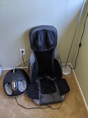 Back and feet massage chair for Sale in San Diego, CA