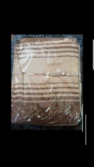 Brown and Beige Blanket-New for Sale in Fairfield, CA