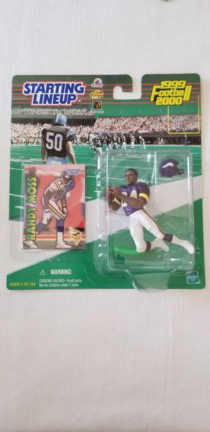 1999/2000 STARTING LINEUP RANDY MOSS for Sale in Fountain Valley, CA