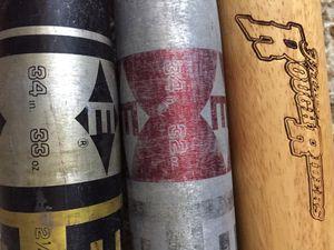 Baseball bats...3pcs... for Sale in Dallas, TX