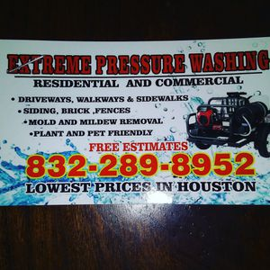 Extreme pressure washing for Sale in Houston, TX