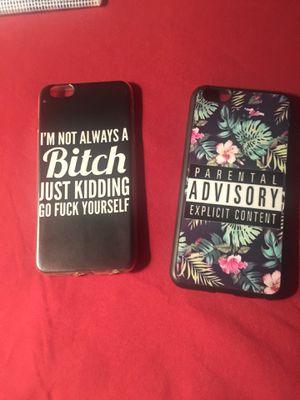 iPhone 6s Plus cases $5.00 each for Sale in Bella Vista, AR