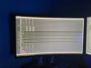 """Samsung 27"""" 144hz 1080p curve gaming monitor for Sale in Los Angeles, CA"""