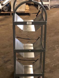 Adrian Steel Refrigerant Tank Rack - Like New for Sale in Pennsauken Township,  NJ