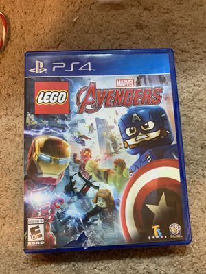 LEGO marvel Avengers PS4 game for Sale in Corona, CA