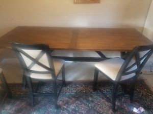 8' long kitchen table and chairs for Sale in Camas, WA