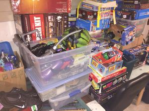 Random pile of toys/collectibles/electronics/etc for Sale in Kingston, MA