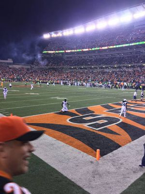 CINCINNATI BENGALS TICKETS-ROW TWO LOWER LEVEL SIDELINE SINGLE GAMES!! for Sale in Norwood, OH