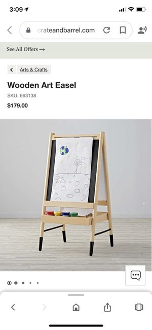 Wooden art easel for Sale in Bothell, WA