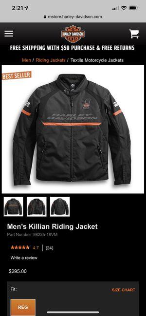 Harley men's jacket for Sale in San Antonio, TX
