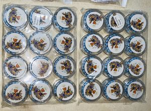 NUEVO Decoraciones & Recuerdos para Primera Comunión: Decoraciones para Niño 24 Platós, 24 servilletas, 2 Manteles para mesa, 15 globos, 24 requerido for Sale in Houston, TX