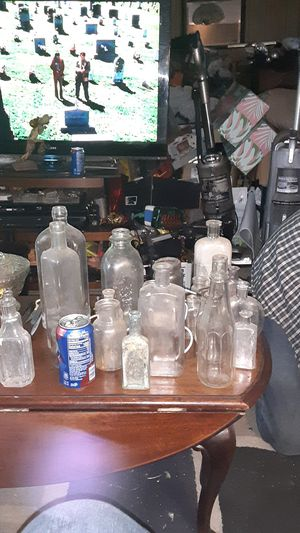 Antique glass bottles for Sale in Concord, CA
