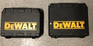 Two Dewalt Drills with chargers and batteries for Sale in Madera, CA
