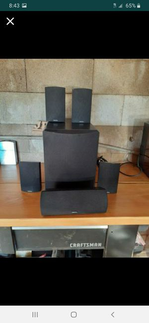 DEFINITIVE TECHNOLOGY SURROUND SOUND SYSTEM for Sale in Valley Center, CA